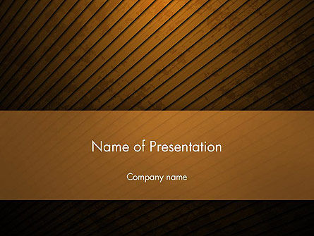 Flooring Texture Abstract PowerPoint Template