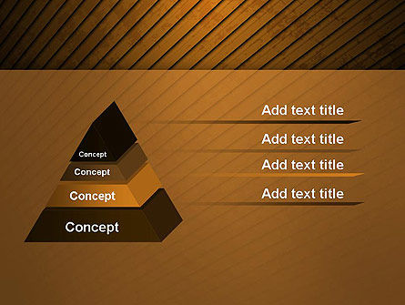 Flooring Texture Abstract PowerPoint Template Slide 12