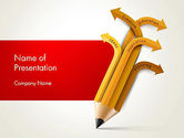 Education & Training: Education Pencil PowerPoint Template #13657