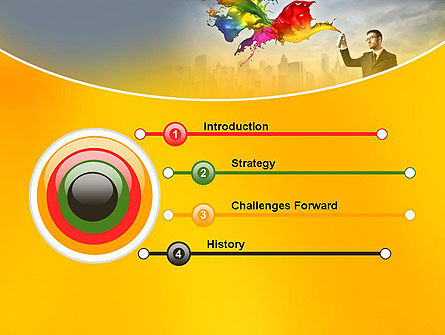 Corporate Creative PowerPoint Template Slide 3