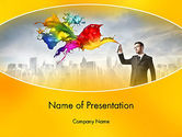 Business Concepts: Corporate Creative PowerPoint Template #13660