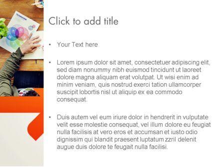 Graphic Design Meeting PowerPoint Template, Slide 3, 13661, Careers/Industry — PoweredTemplate.com