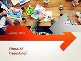 Careers/Industry: Graphic Design Meeting PowerPoint Template #13661