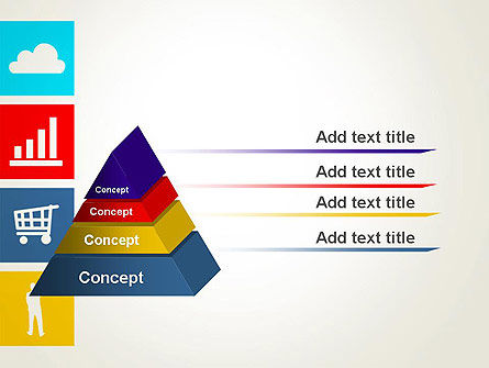 Color Technology Flat Icons PowerPoint Template Slide 4