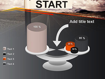 A Big Start PowerPoint Template Slide 10
