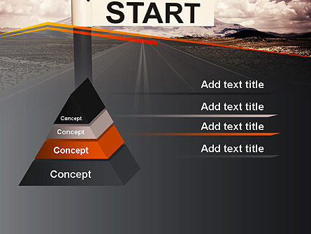 A Big Start PowerPoint Template Slide 12