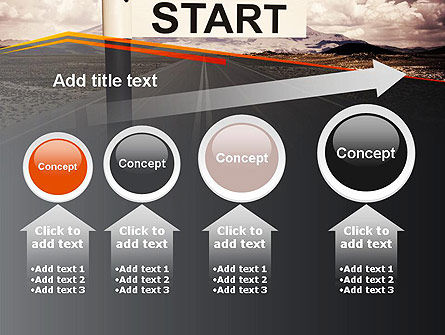A Big Start PowerPoint Template Slide 13