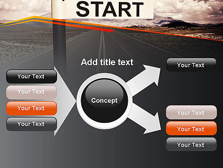 A Big Start PowerPoint Template Slide 14