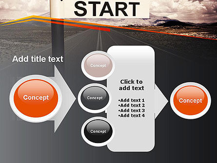 A Big Start PowerPoint Template Slide 17