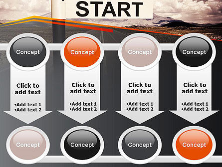 A Big Start PowerPoint Template Slide 18
