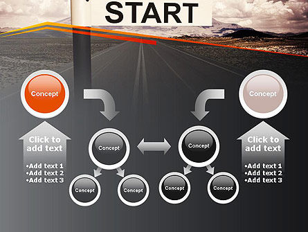 A Big Start PowerPoint Template Slide 19