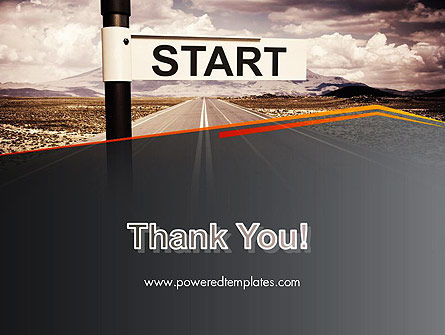 A Big Start PowerPoint Template Slide 20