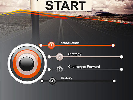 A Big Start PowerPoint Template Slide 3
