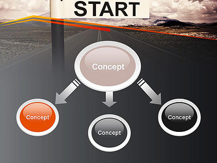 A Big Start PowerPoint Template, Slide 4, 13664, Business Concepts — PoweredTemplate.com