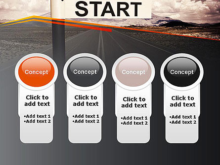 A Big Start PowerPoint Template Slide 5