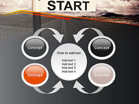 A Big Start PowerPoint Template Slide 6