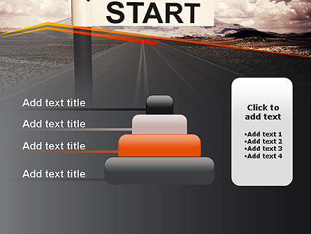 A Big Start PowerPoint Template Slide 8