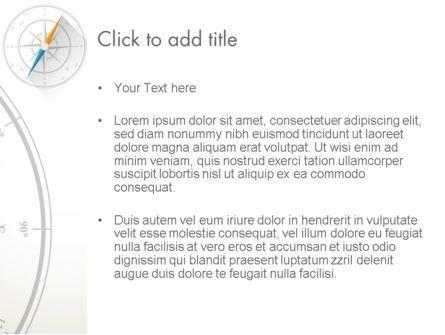 Compass on Wind Rose PowerPoint Template, Slide 3, 13665, Business Concepts — PoweredTemplate.com