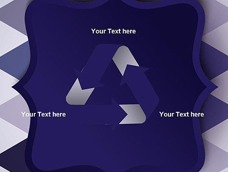 Dark Blue Polygonal PowerPoint Template Slide 10