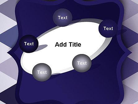Dark Blue Polygonal PowerPoint Template Slide 14