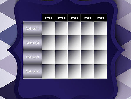 Dark Blue Polygonal PowerPoint Template Slide 15