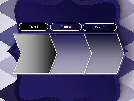 Dark Blue Polygonal PowerPoint Template Slide 16