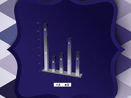 Dark Blue Polygonal PowerPoint Template Slide 17