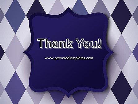 Dark Blue Polygonal PowerPoint Template Slide 20