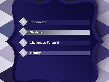 Dark Blue Polygonal PowerPoint Template, Slide 3, 13666, Abstract/Textures — PoweredTemplate.com