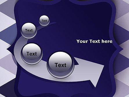 Dark Blue Polygonal PowerPoint Template Slide 6