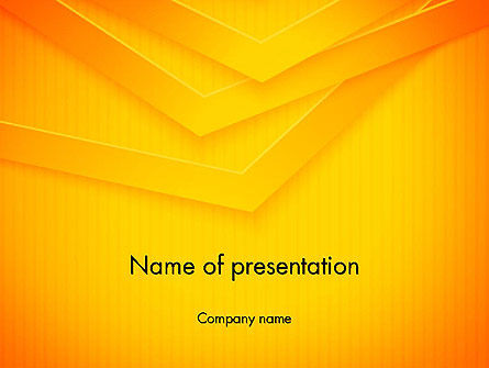 Overlapped Angles PowerPoint Template