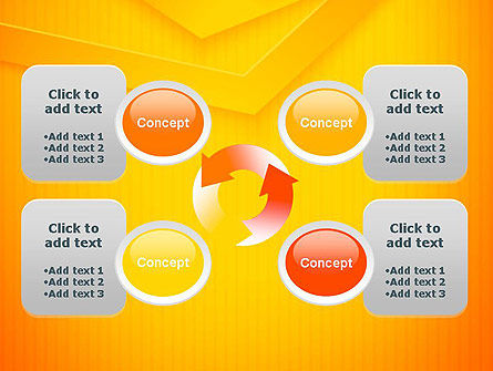 Overlapped Angles PowerPoint Template Slide 9