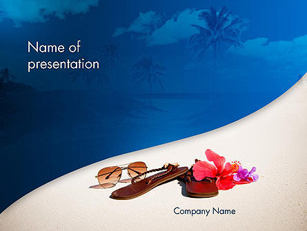 Summer Beach PowerPoint Template