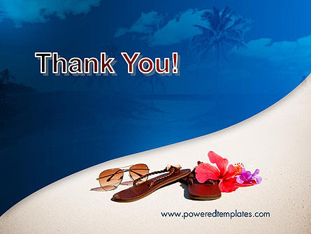 Summer Beach PowerPoint Template Slide 20