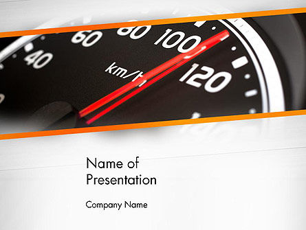 Speed Meter Gauge PowerPoint Template