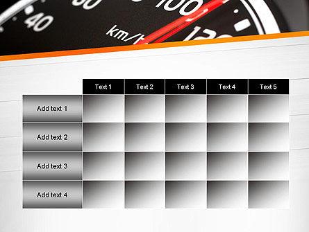 Speed Meter Gauge PowerPoint Template Slide 15
