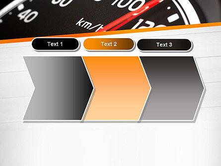 Speed Meter Gauge PowerPoint Template Slide 16