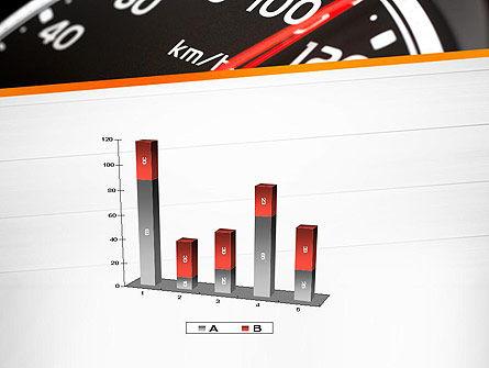 Speed Meter Gauge PowerPoint Template Slide 17