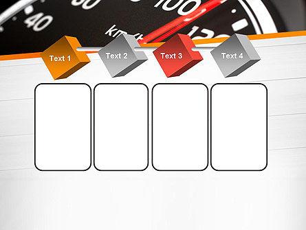 Speed Meter Gauge PowerPoint Template Slide 18