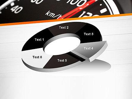 Speed Meter Gauge PowerPoint Template Slide 19