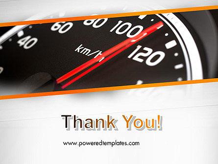 Speed Meter Gauge PowerPoint Template Slide 20