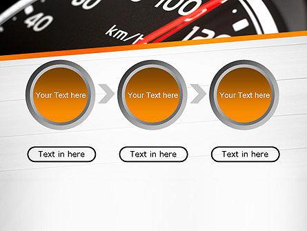 Speed Meter Gauge PowerPoint Template Slide 5