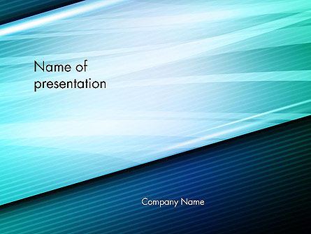 Abstract/Textures: Diagonal Lines and Glow PowerPoint Template #13676