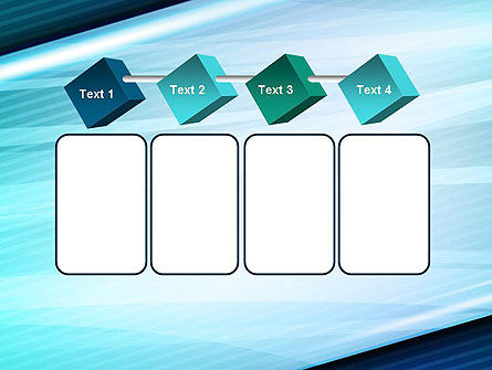 Diagonal Lines and Glow PowerPoint Template Slide 18