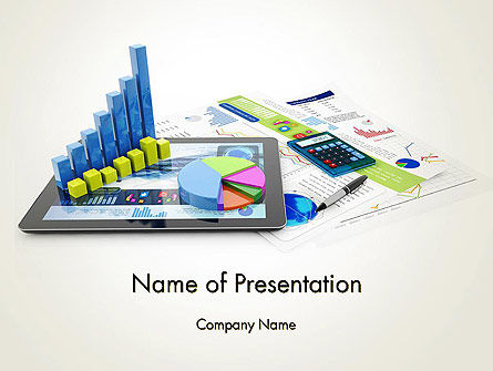 Financial Analysis and Report PowerPoint Template