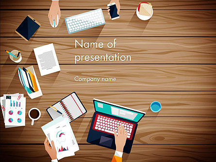 Conference Top View PowerPoint Template