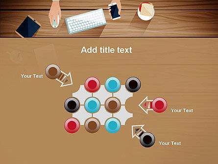 Conference Top View PowerPoint Template Slide 10