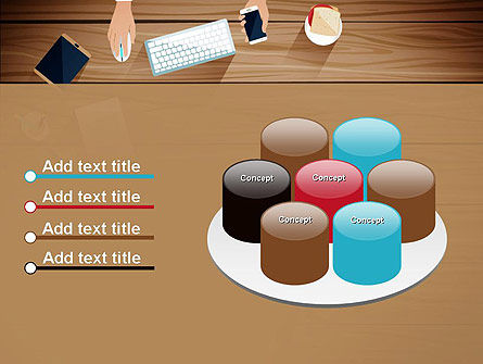 Conference Top View PowerPoint Template Slide 12