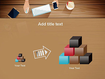 Conference Top View PowerPoint Template Slide 13