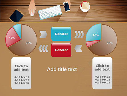 Conference Top View PowerPoint Template Slide 16